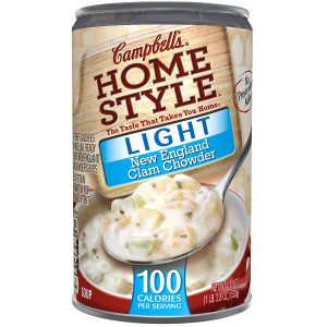 Campbells Homestyle Light New England Clam Chowder