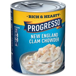 Progresso Soup Rich & Hearty New England Clam Chowder