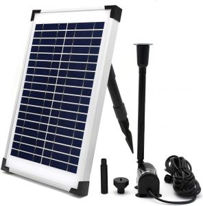 ECO-WORTHY Solar Fountain Water Pump Kit