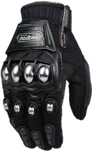 ILM Alloy Steel Knuckle Powersports Racing Paintball Gloves