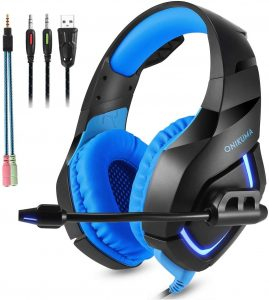 ONIKUMA Stereo Gaming Headset for PS4 Xbox One