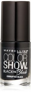 Maybelline New York Color Show – Black to Black