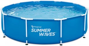 Summer Waves 10' Active Frame Above-Ground Pool