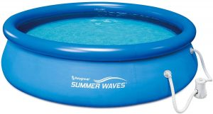 Summer Waves Inflatable Above Ground Pool
